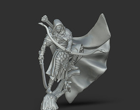 warhammer Wood Elf ranger - 35mm scale 3D print model