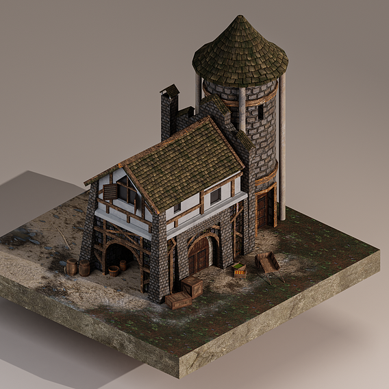 Medieval Warehouse