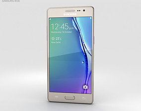 3D model Samsung Z3 Gold cell