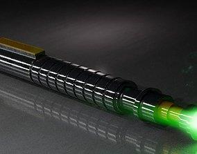 Obi Wan Kenobi Lightsaber 3D model
