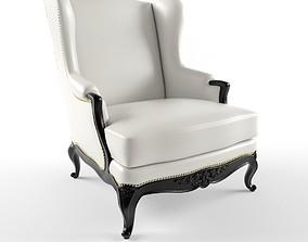 3D John Hutton baron wing chair