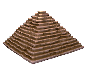 Cartoon Pyramid 3D model