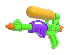 Water gun toy 3D