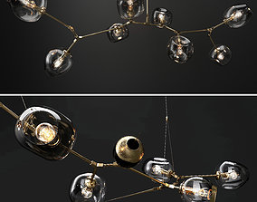 Branching bubble and Branching burst 3D model