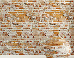 Brick wall Old brick 118 3D model