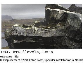 3D Cliff model v1