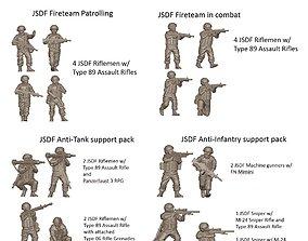 3D model JSDF Full Pack