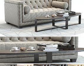 Curations Limited Bergamo Sofa 3D model