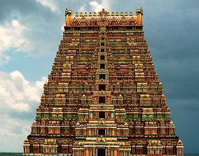 temple 3d model indu