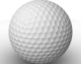 Golf ball 3D model games