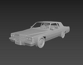 3D print model Cadillac FLeetwood Brougham Coupe 1983