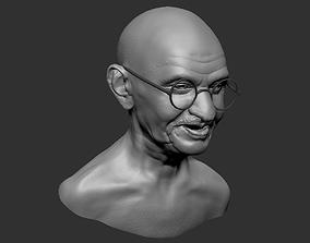Mahatma Gandhi 3D printable model india