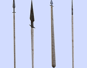 Hunting Spear 3D asset