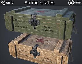 3D model Ammo Crates