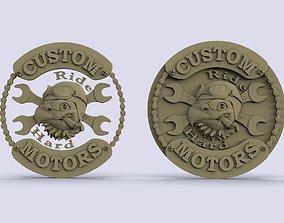 custom motors 3D printable model