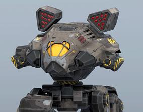 3D asset Lynx BattleMech