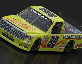 2017 NASCAR TOYOTA TUNDRA CAMPING WORLD GAME 3D model