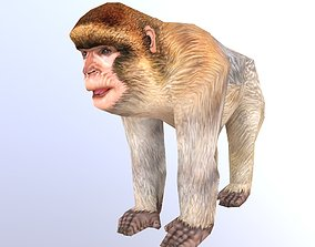 Barbary Ape 3D model