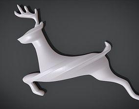 3D print model Wooden Deer shaped decoration