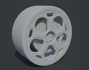 3D model Lamborghini Gallardo wheel