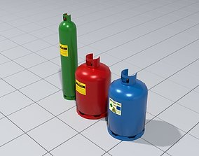 industrial 3D Gas canisters