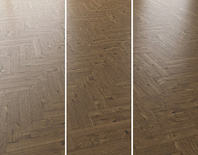 Parquet Oak Estate NEW Brushed set 2 3D