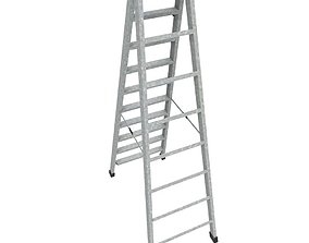 Step Ladder 3D asset