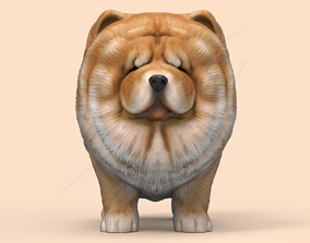3D print model Cute Chow Chow STL and VRML