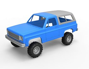 Diecast shell and wheels 1978 3D printable model 6
