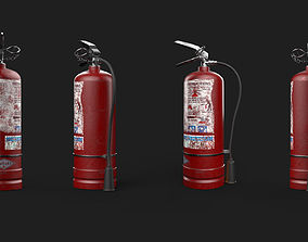 3D model realtime Fire Extinguisher laboratory