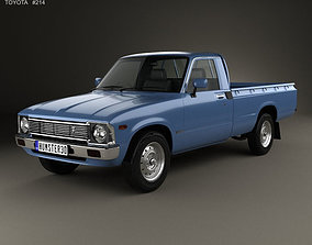 Toyota Hilux Regular Cab 1978 3D model