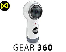 3D model Samsung Gear 360 2017