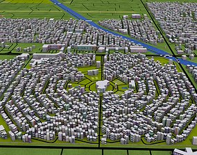 3D asset Phoenix City USA