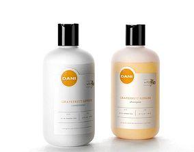DANI Naturals Conditioner and Shampoo 3D model