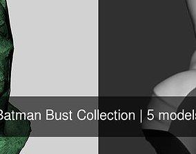 Batman Bust Collection 3D model