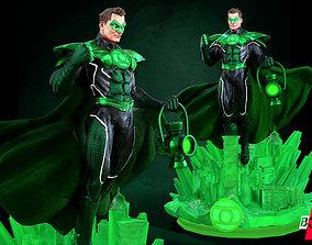 B3DSERK DC comics Green Lantern Hal Jordan 3d Sculpture