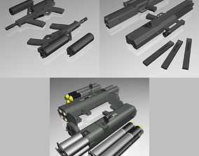 Weapons Collection 02 3D model