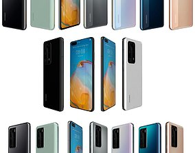 3D model Huawei P40 Collection