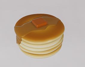 Cartoon pancake 3D