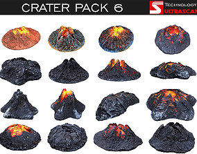 Crater Pack 6 3D model