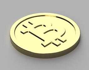 Bitcoin Long Term Cold Storage 3D print model