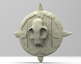3D printable model Brutal Orc Shield
