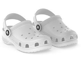 Crocs Classic Clog White 3D model