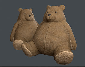 3D model PBR Teddy Bear