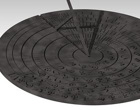 Sun Dial universal 3D print model
