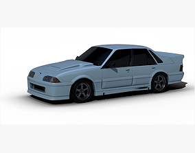 Holden Commodore VL 1990 3D asset