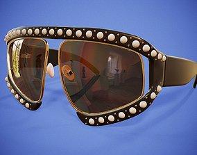 3D asset Pearl Glasses