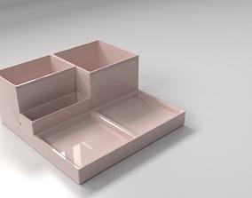 3D Desktop Stationery Organizer