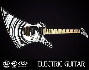 Electric guitar Jackson Kelly skin3 3D model