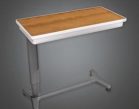 3D asset Hospital Side Table HPL - PBR Game Ready
